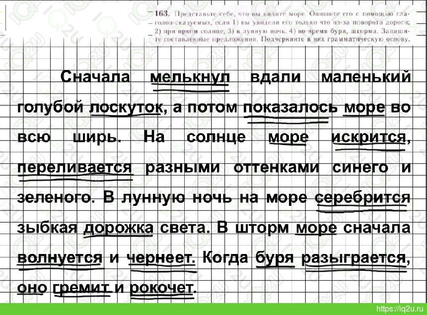 гдз по русскому упражнение 165